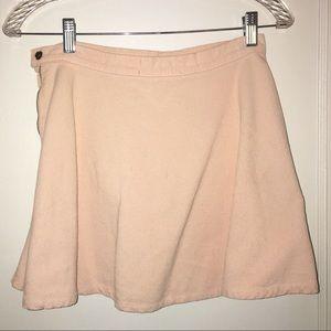 American apparel pink circle skirt
